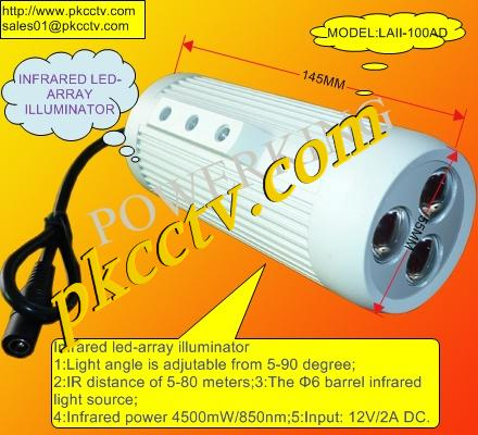 LED ARRAY IR ILLUMINATOR LAII-100AD